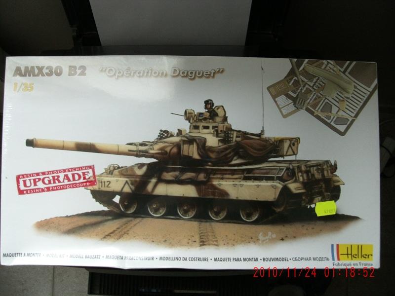 """Amx 30B2 """"Opération Daguet"""" Heller 1/35 Upgrade Ref 81157 Apdc0475-3eeb5be"""