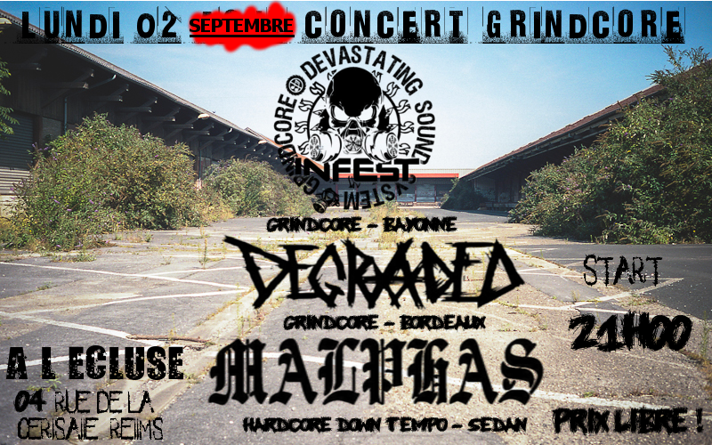 concert grind 2 septembre